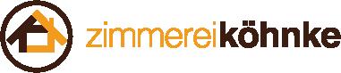 Zimmerei Köhnke Logo pxmedia Gestaltung Webdesign Webseite