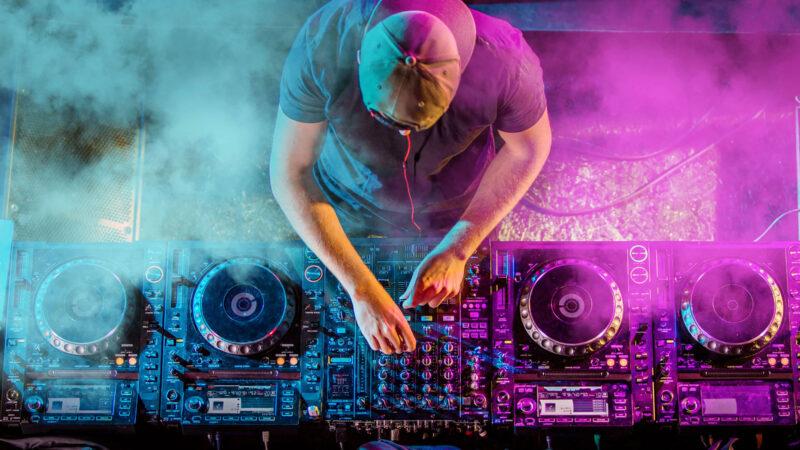 Event Webdesign Party DJ