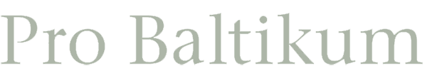 Pro Baltikum Logo Gestaltung Wortmarke pxmedia Webdesign