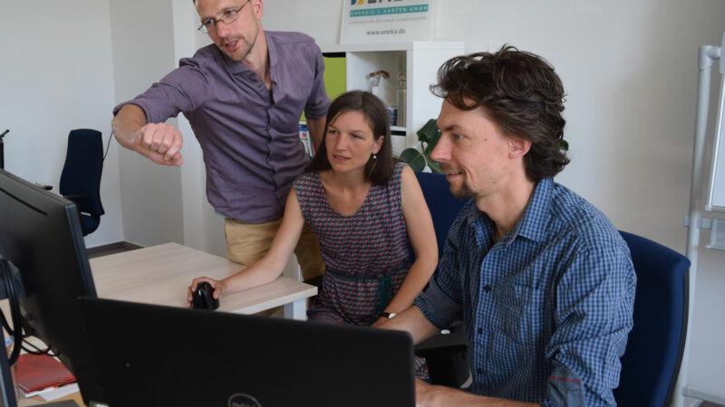 Homepage Webdesign Energie