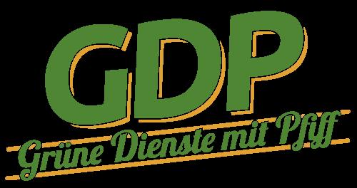 Grüne Dienste mit Pfiff Logo Vektor pxmedia Gestaltung