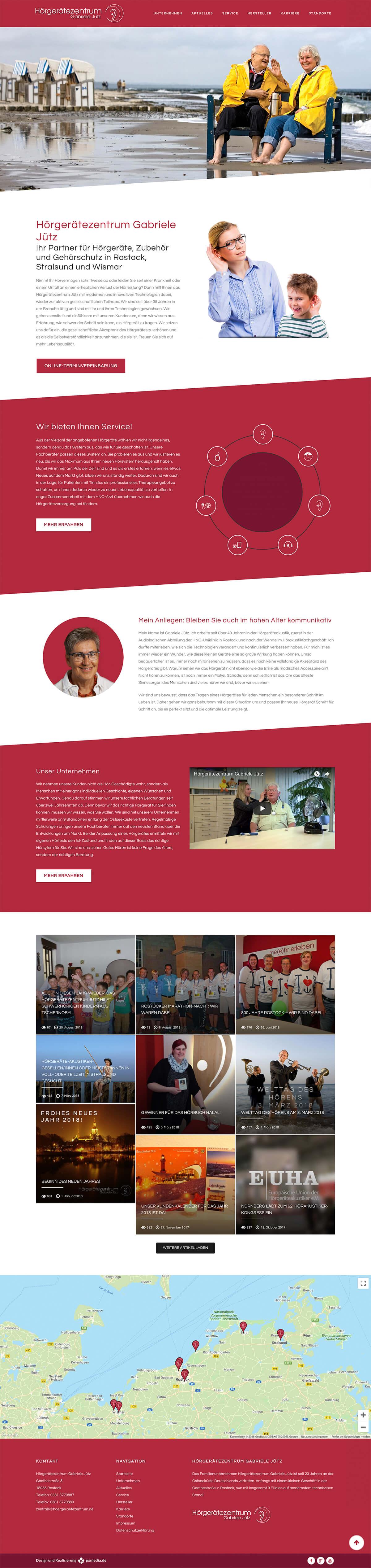 Homepage Agentur Grafikgestaltung