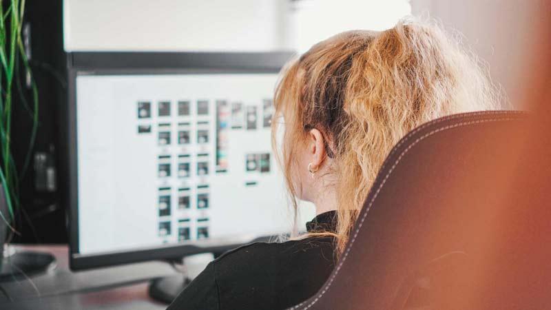 Konzept Gestaltung Webdesign