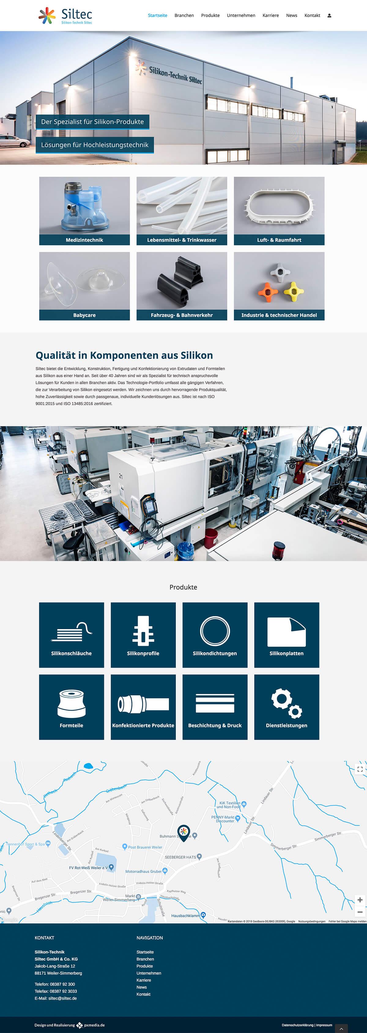 Webdesign Handwerk und Industrie