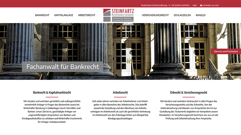 Homepage Webdesign
