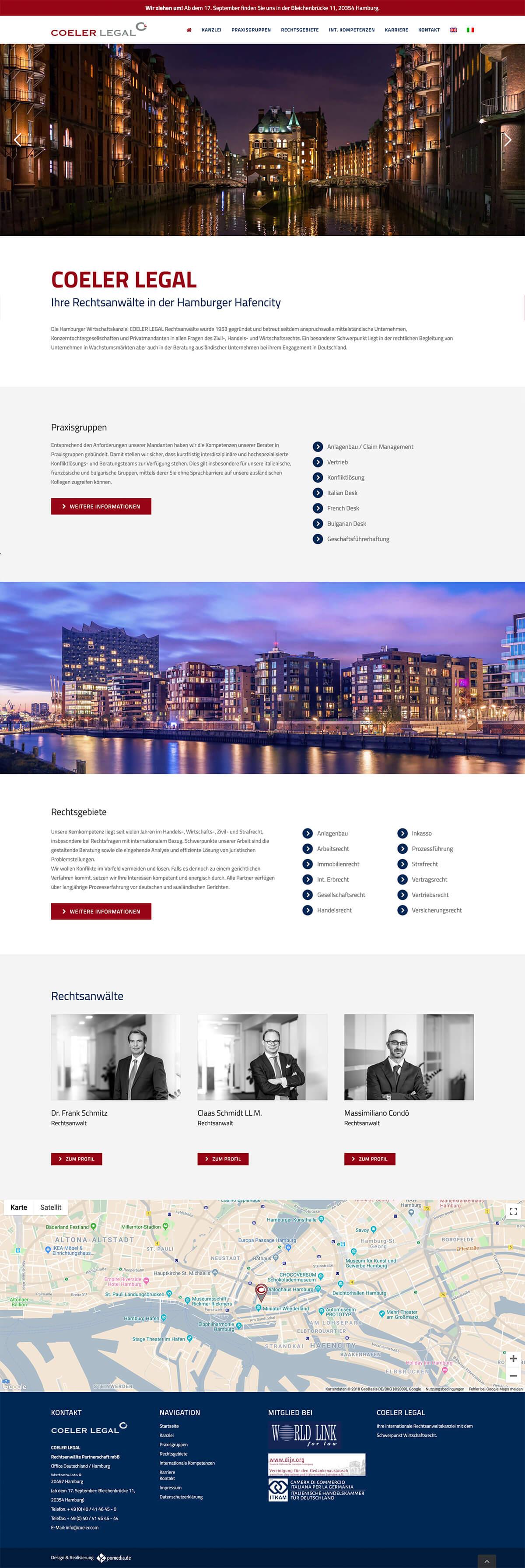 webdesign für anwälte