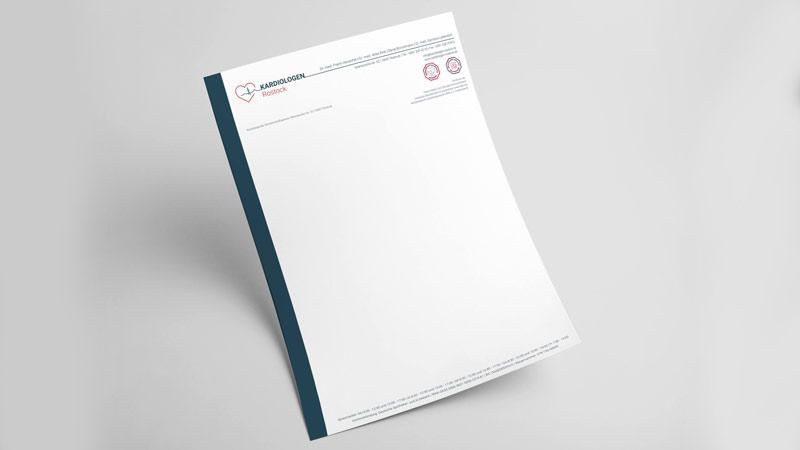 Briefbogen-design Rostock