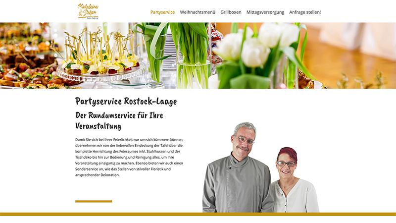 Website Logo Agentur Party