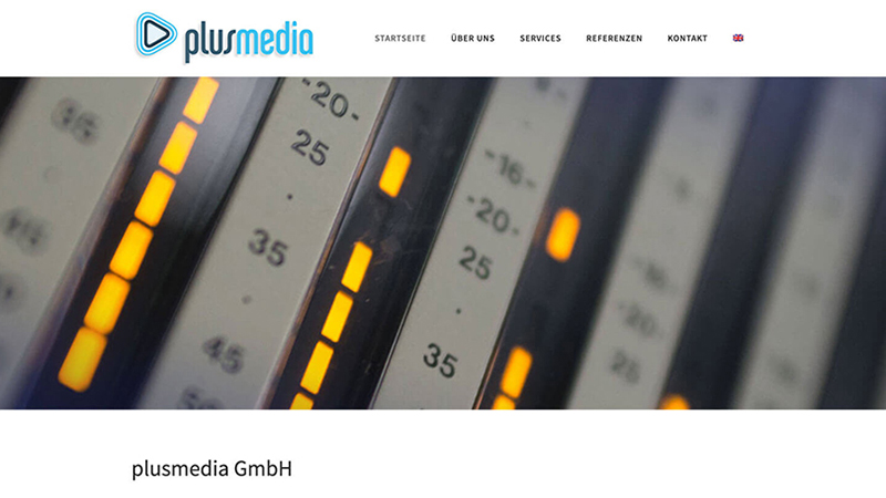 Webdesign Aus Berlin Für Die Plusmedia GmbH