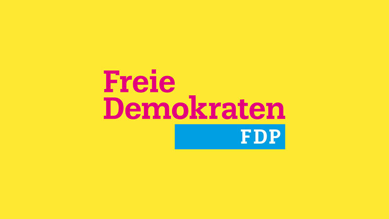 Fdp Wahl Webdesign