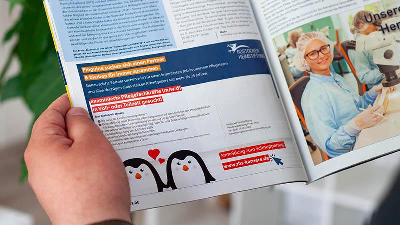 Anzeige Werbung Rostock