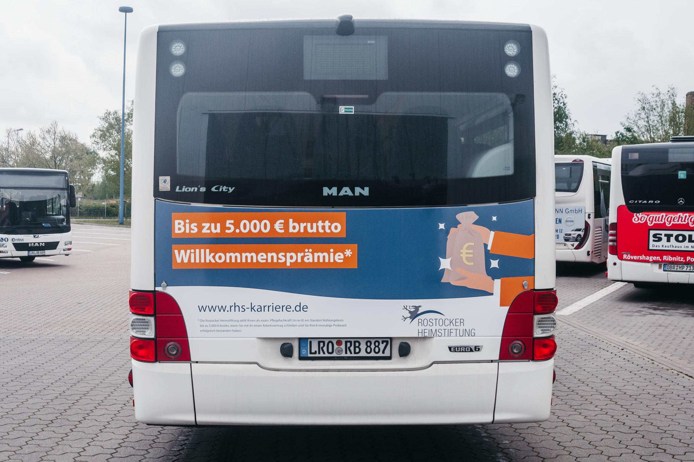 Bus Rostock Kühlungsborn