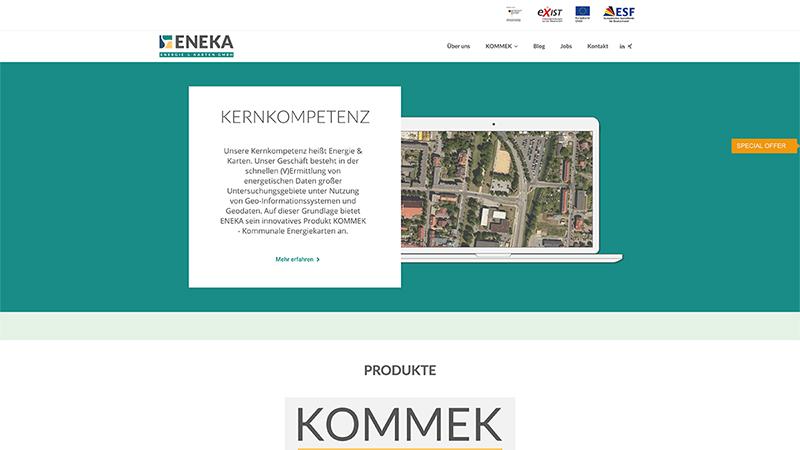 Homepage Grafikdesign