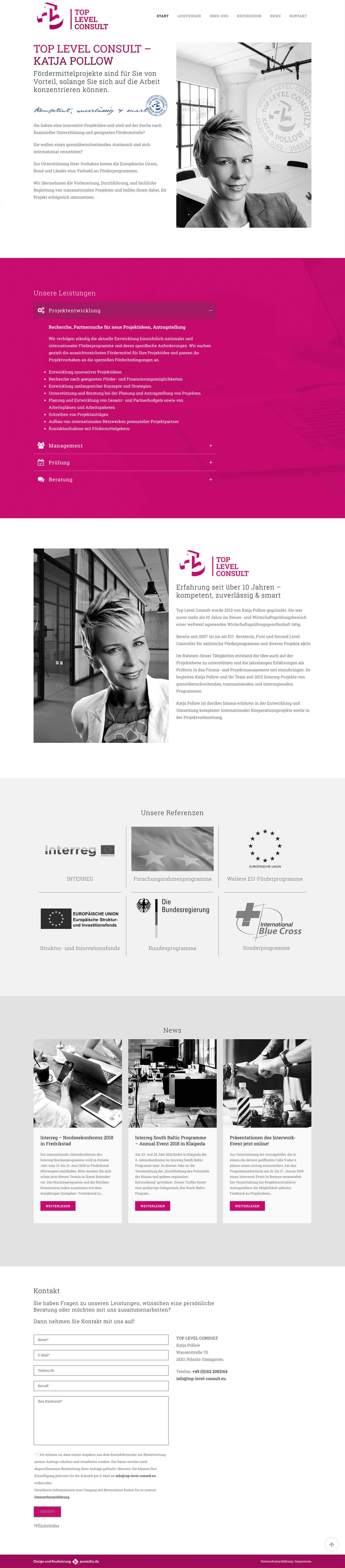 Webdesign EU