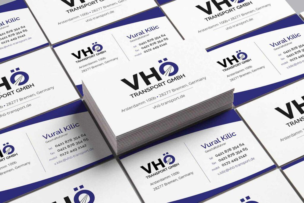 Professionelles Visitenkarten Design Für Ihr Unternehmen In Hamburg