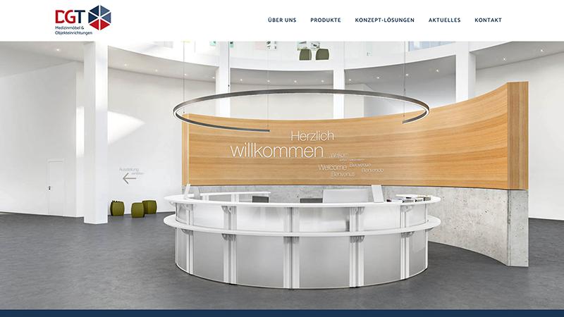 Webdesign DGT Medizinmöbel Und Objekteinrichtungen
