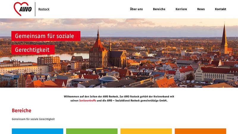 AWO Rostock Homepage