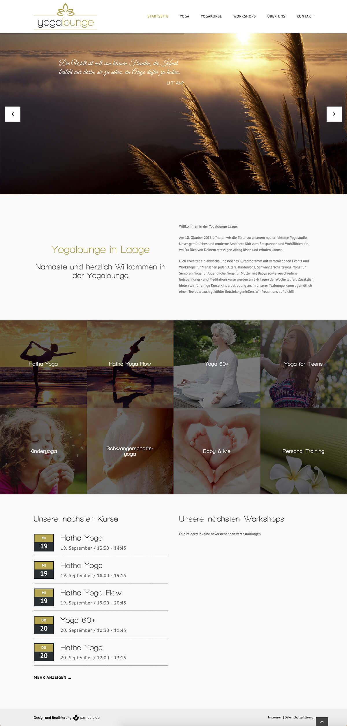 webdesign yoga rostock