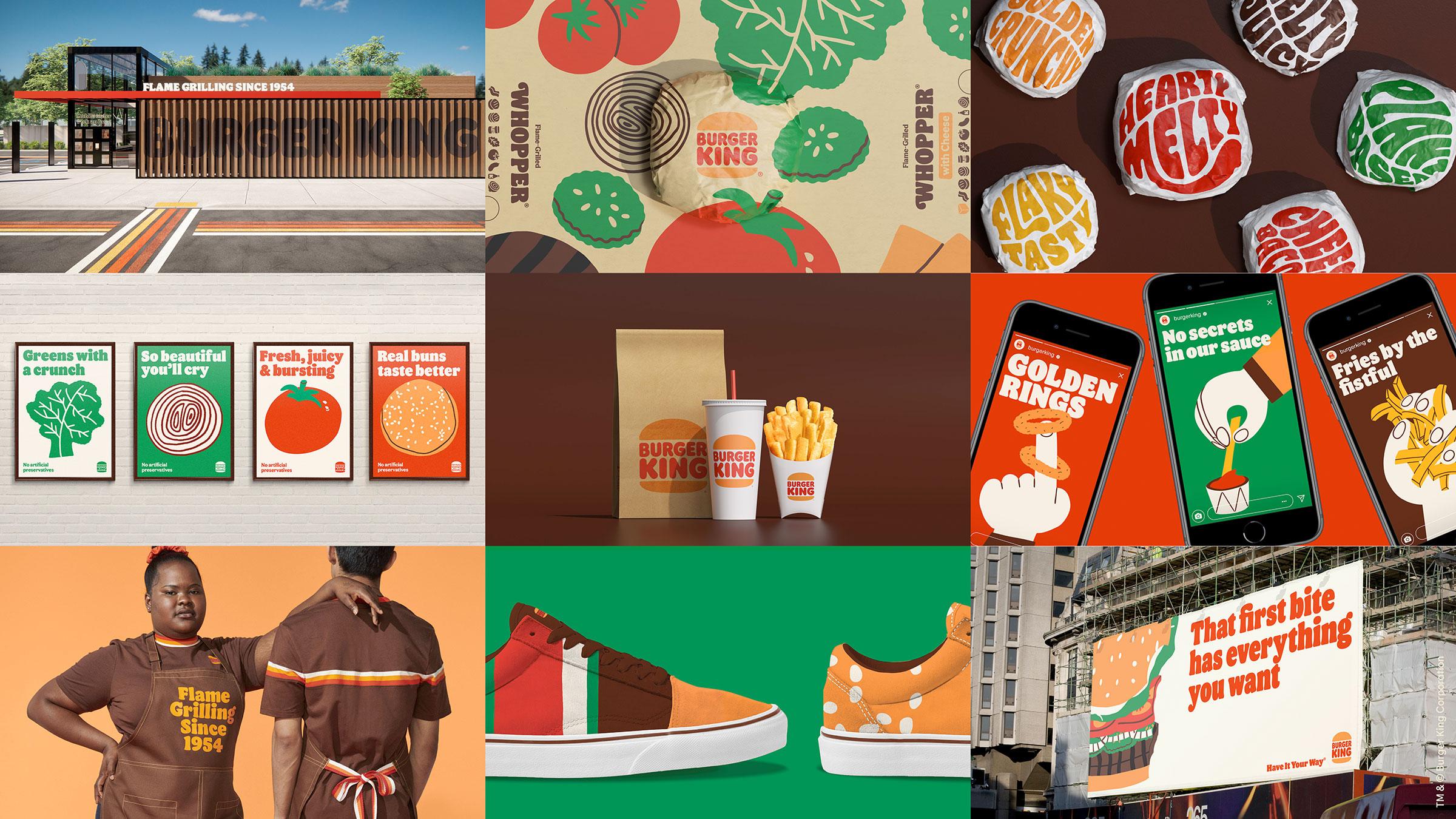 Design Burgerking Rebrand