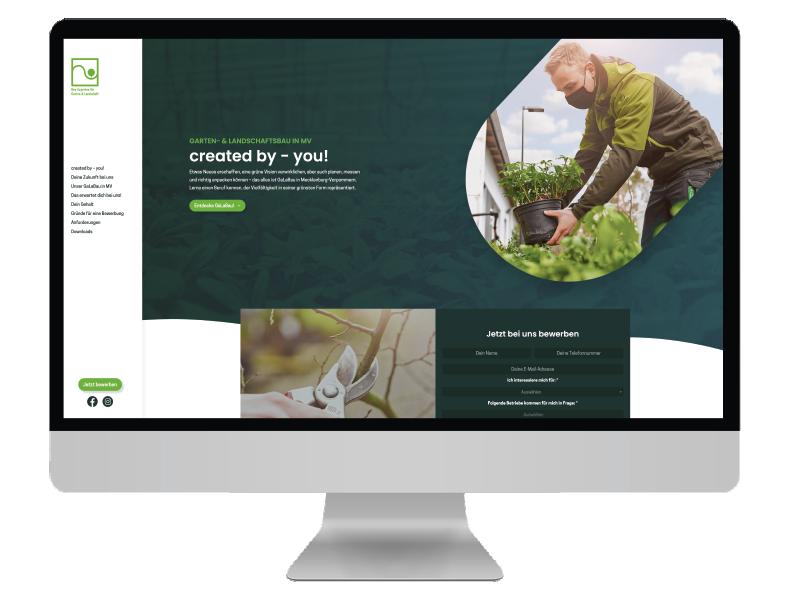 Galabau Social Media pxmedia Webdesign Webseite
