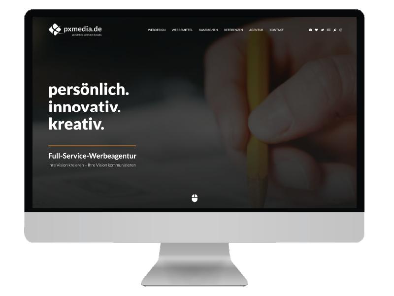 pxmedia full-service werbeagentur