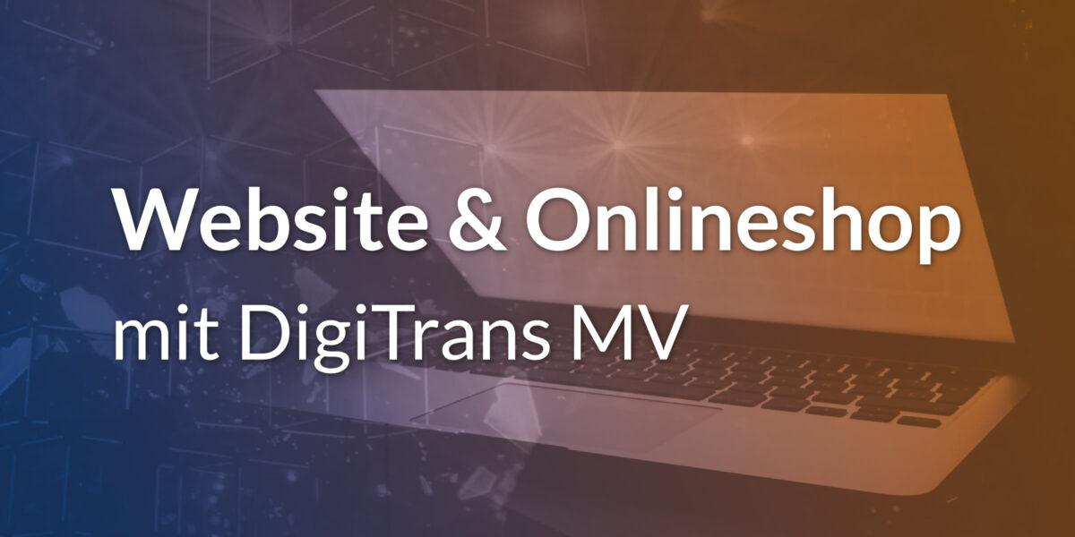 DigiTrans MV Förderung