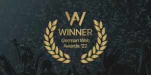 German Web Awards 2022 Werbeagentur pxmedia Gestaltung Agentur Webdesign Webseite